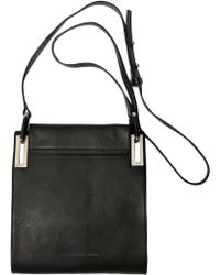 Diesel Black Gold Leather Mirror Shoulder Bag - Lyst