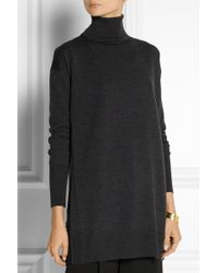 Adam Lippes Wool Turtleneck Sweater - Lyst