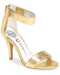 Jeffrey Campbell Women'S 'Hough' Open Toe Pump - Lyst