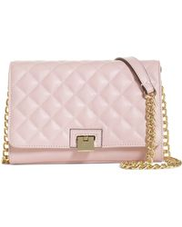 Brooks Brothers Quilted Leather Small Shoulder Bag - Lyst
