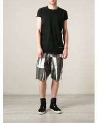 Rick Owens Patch Detail Tshirt - Lyst