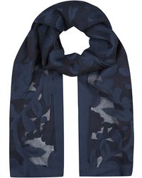 Mulberry Sheer Wrap Scarf - Lyst