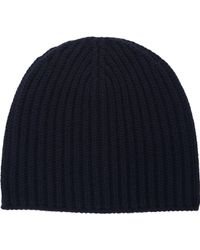 Barneys New York Rib-knit Hat - Lyst