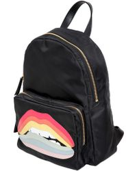 Red Valentino   Rainbow Lips Patch Backpack   Lyst