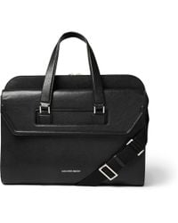 Alexander McQueen Heroic Leather Briefcase - Lyst
