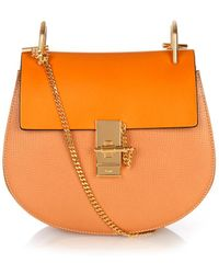 Chloé Drew Small Leather Shoulder Bag - Lyst