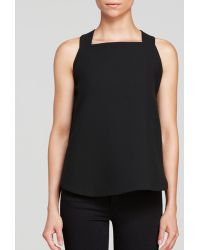 Rachel Zoe Top - Sherry Sleeveless Buckle Strap - Lyst