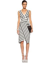 Altuzarra Jessica Blanket Stripe Dress - Lyst