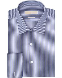 Michael by Michael Kors Stripe Dress Shirt - Lyst
