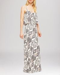 Vince Camuto Marrakesh Tapestry Print Maxi Dress gray - Lyst