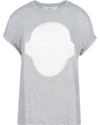 Stella McCartney Grey Superstellaheroes T-Shirt - Lyst