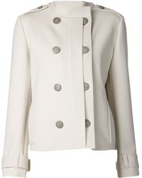 Lanvin Double Breasted Jacket - Lyst