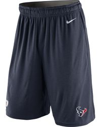 Nike Mens Houston Texans Fly Shorts - Lyst