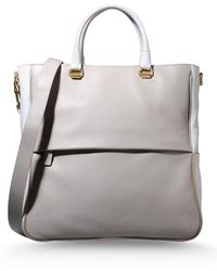 Sonia Rykiel Large Leather Bag - Lyst