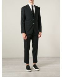 DSquared2 Black Two-piece Suit - Lyst