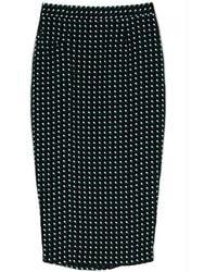 A.L.C. Black Bell Skirt - Lyst