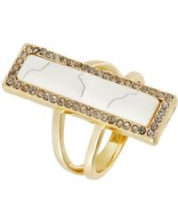 House Of Harlow Bar Statement Ring - Lyst