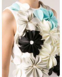 3.1 Phillip Lim 3d Flowers Top - Lyst