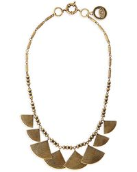 Giles & Brother Graduated Fan Collar Necklace - Lyst