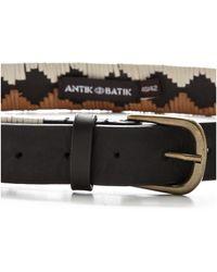 Antik Batik - Kathy Belt Rust - Lyst