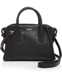 DKNY | Chelsea Vintage Leather Mini Satchel | Lyst