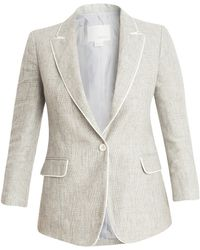 Band of Outsiders Linen Jacket - Lyst