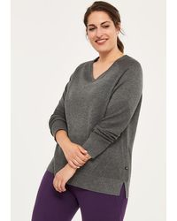 Addition Elle - Plus-size Thermal Sweater - Activezone - Lyst