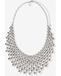 Addition Elle - Ball Statement Necklace - Lyst