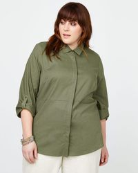 Addition Elle - Linen Blouse - In Every Story - Lyst
