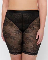 Addition Elle - Basic Lace Bike Shorts - Déesse Collection - Lyst
