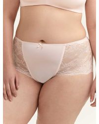 25d3b94a83a3 Maidenform Microfiber With Lace Boyshort Panty in Red - Lyst