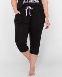 Addition Elle - Déesse Collection - Pajama Capri Jogger - Lyst