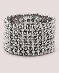 Addition Elle - Rhinestone Stretch Bracelet - Lyst