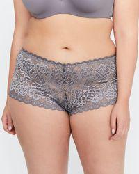 Addition Elle - Brazilian Soft Lace Panty - Déesse Collection - Lyst