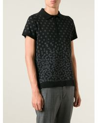 Sibling Classic Printed Polo Shirt - Lyst