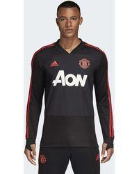 adidas - Manchester United Trainingsoberteil - Lyst