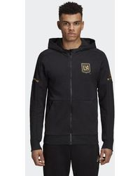 adidas - Los Angeles Football Club Travel Jacket - Lyst