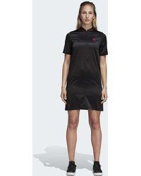 adidas - LEOFLAGE T-Shirt-Kleid - Lyst