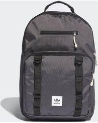 4076c2e4cd Lyst - adidas Eqt Classic Backpack in Blue