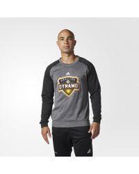 adidas - Houston Dynamo Ultimate Crew Sweatshirt - Lyst