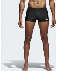 adidas - Boxer de bain Essence Core 3-Stripes - Lyst