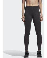 fa738d24 Lyst - Reebok Linear High Rise Performance Tights in Black