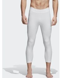 adidas - Alphaskin 3/4 Tech Tights - Lyst