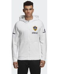 adidas - La Galaxy Travel Jacket - Lyst