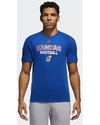 adidas - Kansas Football Ultimate Tee - Lyst