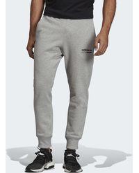 28771a730a8d3 Pantalon de survêtement EQT Outline hommes Jogging en Gris adidas ...