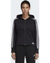 adidas - Veste à capuche Must Haves 3-Stripes French Terry - Lyst
