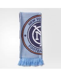 adidas - New York City Fc Jacquard Scarf - Lyst