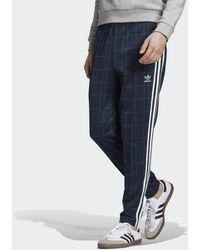 adidas Tartan Bb Track Pants - Blue