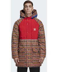 870c124bc4 Lyst - adidas Originals X Pharrell Hu H Packable Windbreaker in ...
